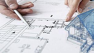 建筑平面图设计和施工图