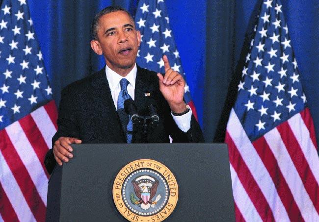 美国总统奥巴马年龄正当壮年时的照片