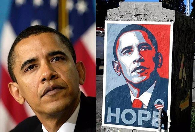 奥巴马入主白宫时的潇洒倜傥
