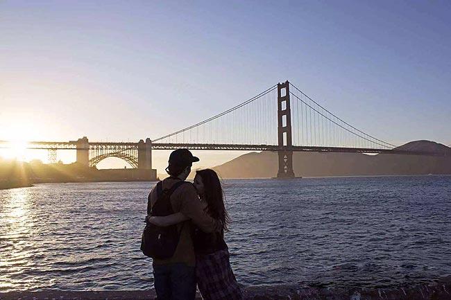 美丽的金门大桥