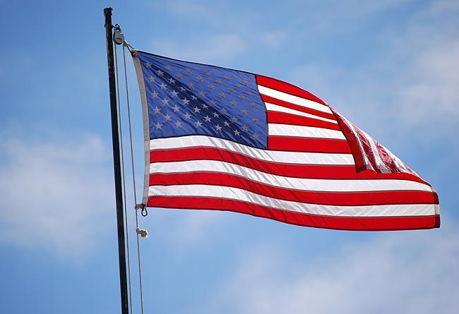 美国国旗上有50颗星星