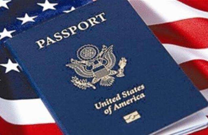 美国公民护照