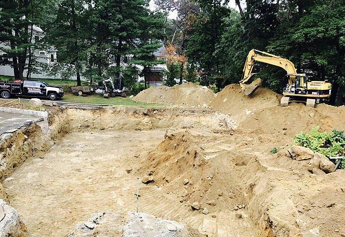 美国自建房-挖地基1