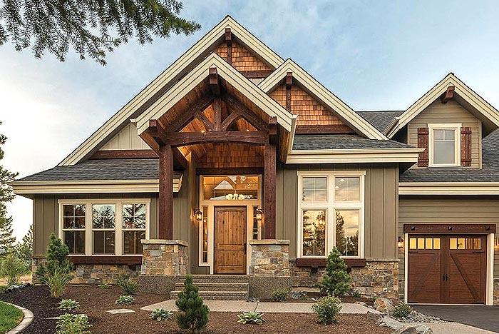 美国木头住宅