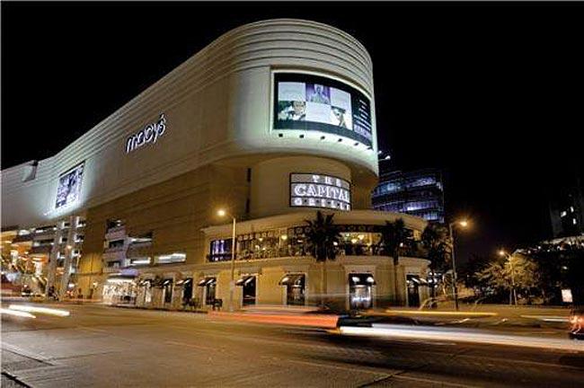 著名的美国贝弗利山庄购物中心