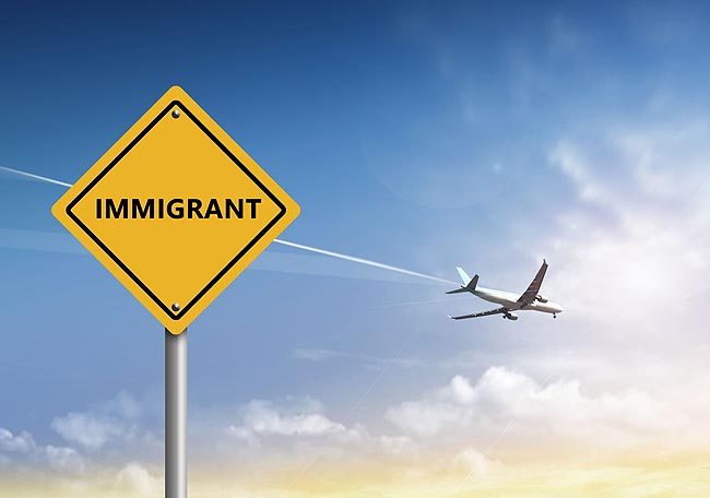 """中国人""""美国轻移民""""在路上!"""