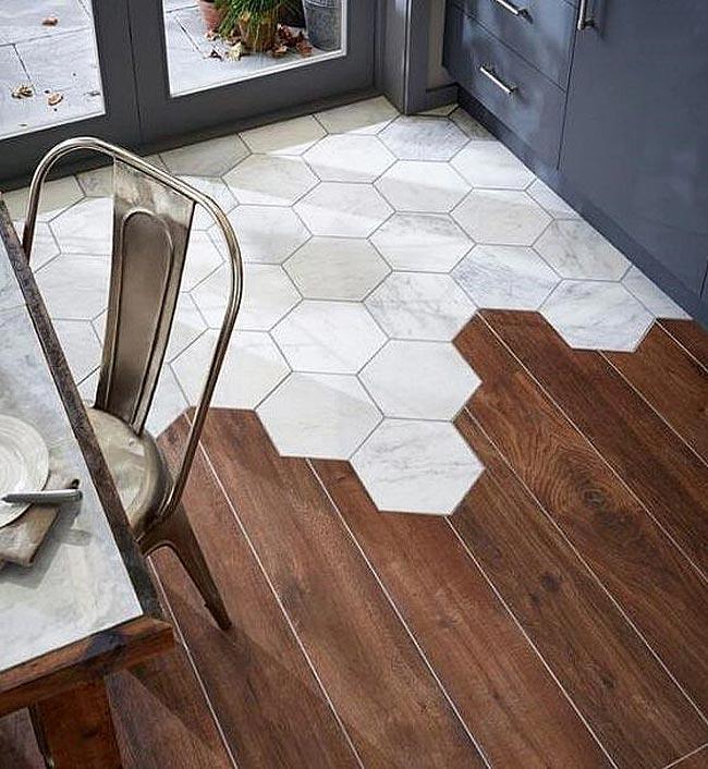 木地板安装拼接