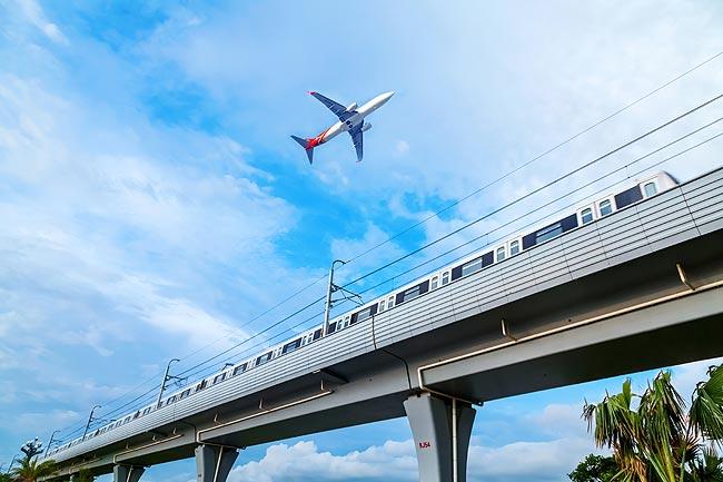 机场、火车等噪音污染