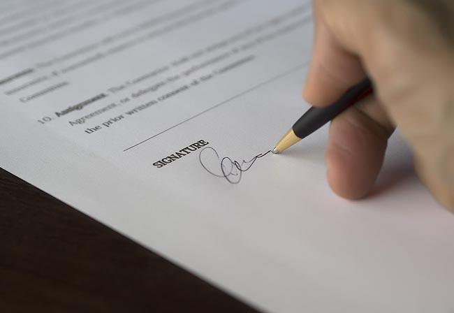 美国购房签署合同