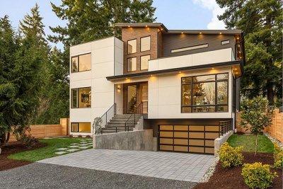 现代时尚风格复式别墅