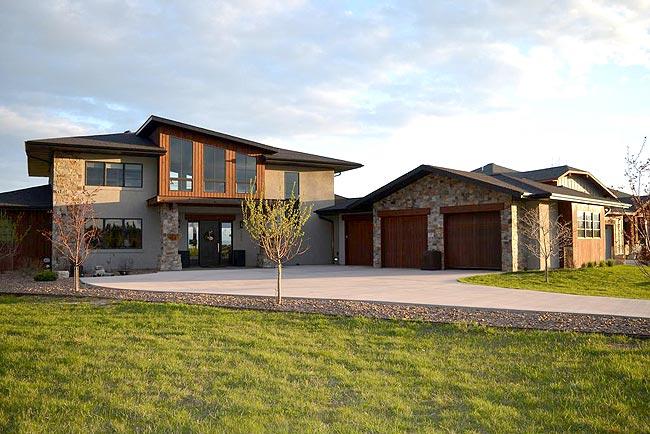美式農場別墅設計外觀